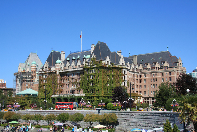 The Fairmont Empress - Image Credit: https://www.flickr.com/photos/christine-wagner/6321541915