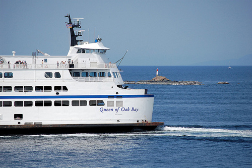 BC Ferry Queen of Oak Bay - Image Credit: https://www.flickr.com/photos/kams_world/3790005011/